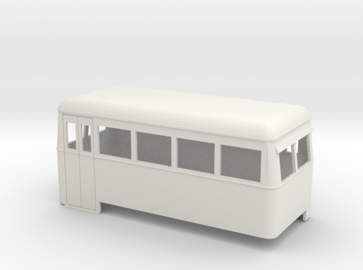 On16.5 Railbus double end 3d printed