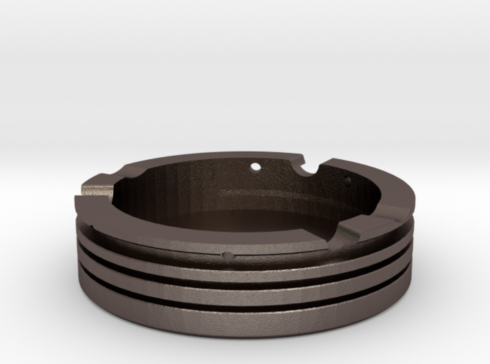 Piston Ashtray 3d printed