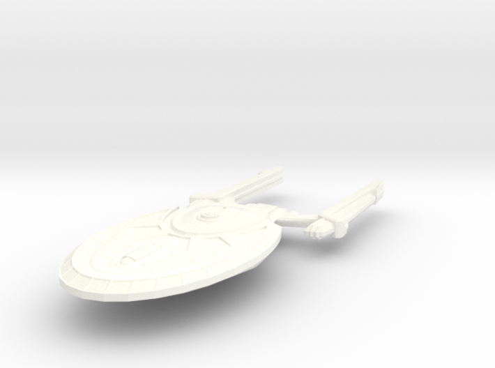 USS Union 3d printed