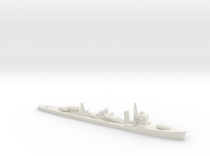 Asagumo (Asashio class 1:1800) 3d printed