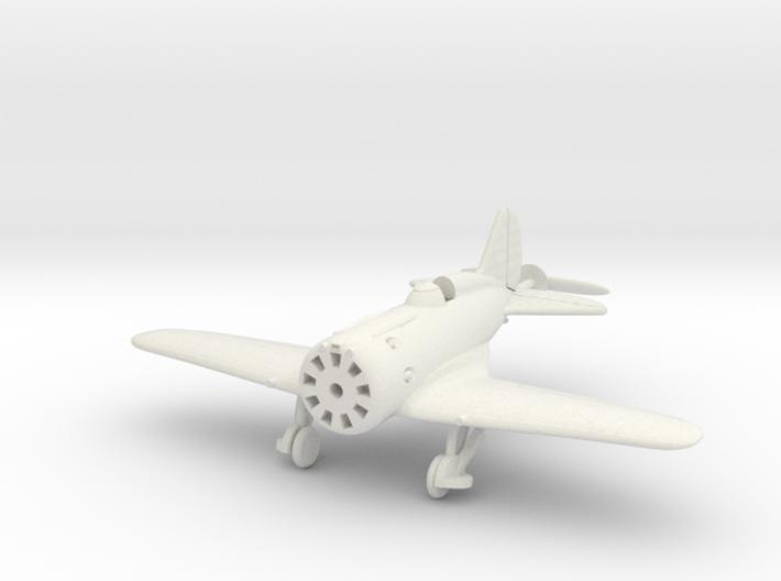 1/144 Polikarpov I-16, Wheels down 3d printed