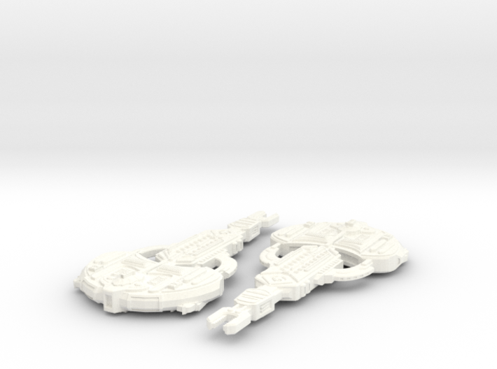 Cardassian Turon Class 3d printed