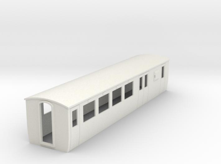OO9 modern Brake 2nd coach 3d printed