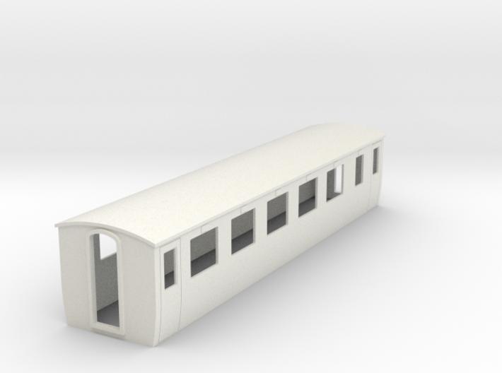 OO9 modern 1st class coach 3d printed