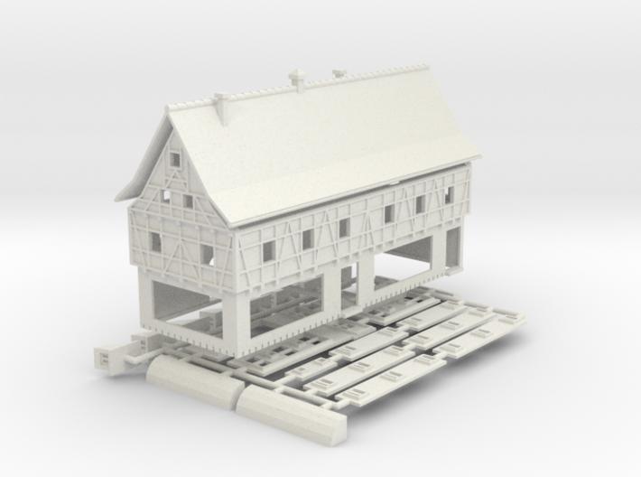 Boutique - 1:220 (Z scale) 3d printed