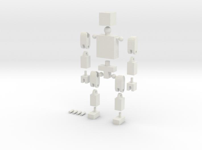 BlockGuy 3d printed