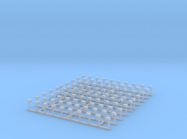 A17snf 100 TT/HOn min width 1-staple stake pockets 3d printed
