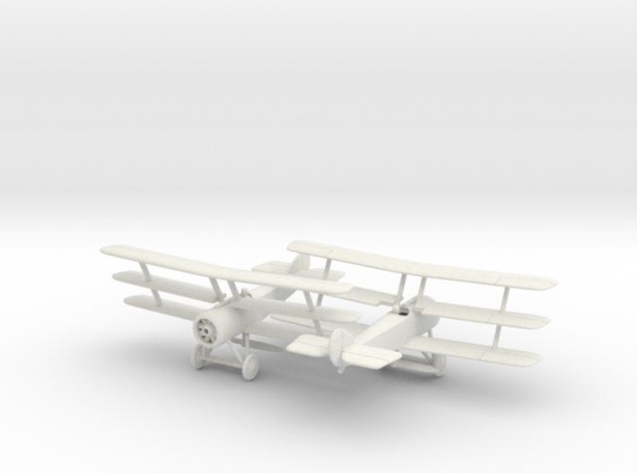 1/144 Sopwith Triplane x2 3d printed