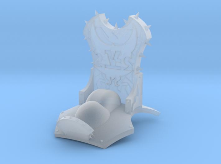 Monster Throne 3d printed