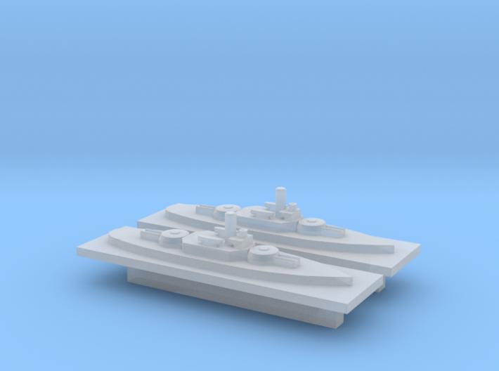 Montery (BM-6) 1:6000 x2 3d printed