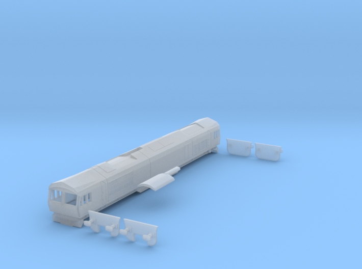 BR Class 66 - Z - 1:220 3d printed