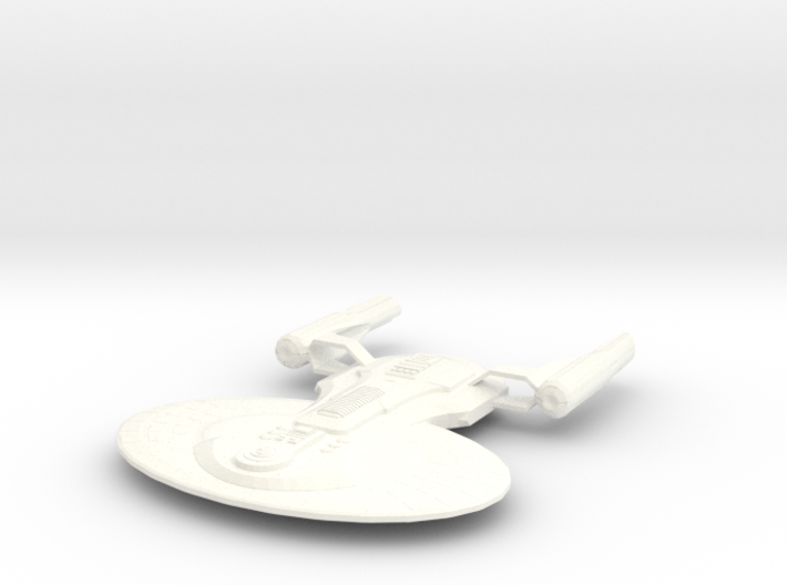 USS Truxton (Science and Transport Vessel) 3d printed