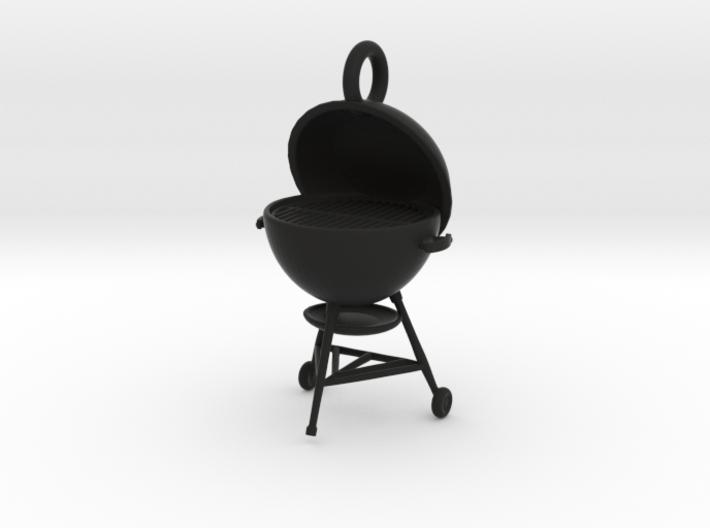 Summer Grillin' Keychain 3d printed