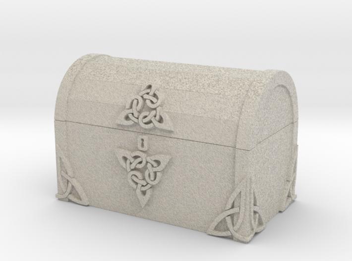 Celtic Treasure Chest 3d printed