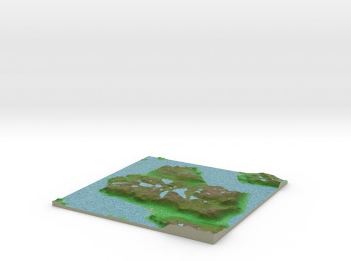 Terrafab generated model Fri Apr 18 2014 23:01:49 3d printed