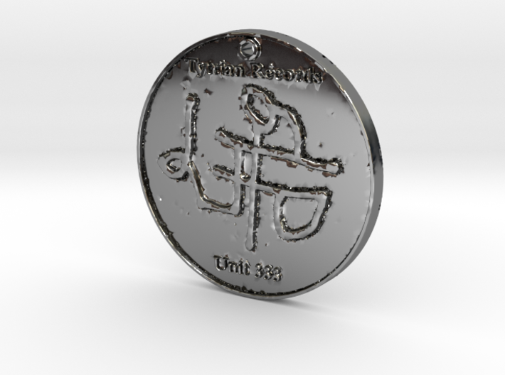 T-Recs - Unit 333 Coin / Necklace 3d printed