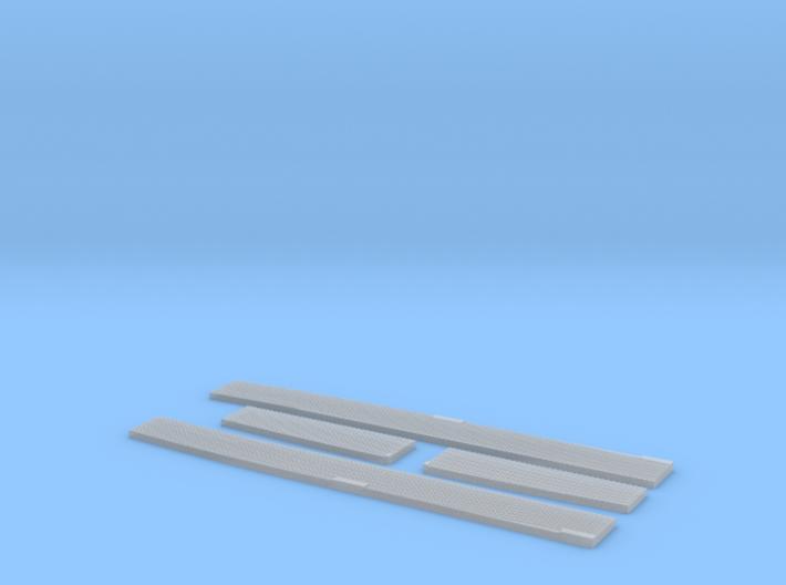 Seitendecks Set lange Version 3d printed