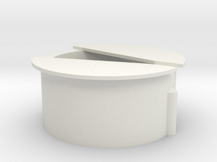Wisseldeksel in 3D 3d printed