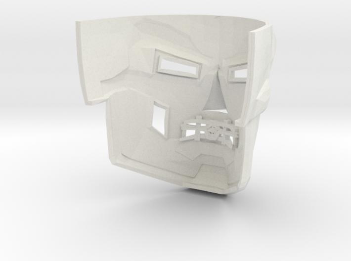 Dr Doom Mask 3d printed