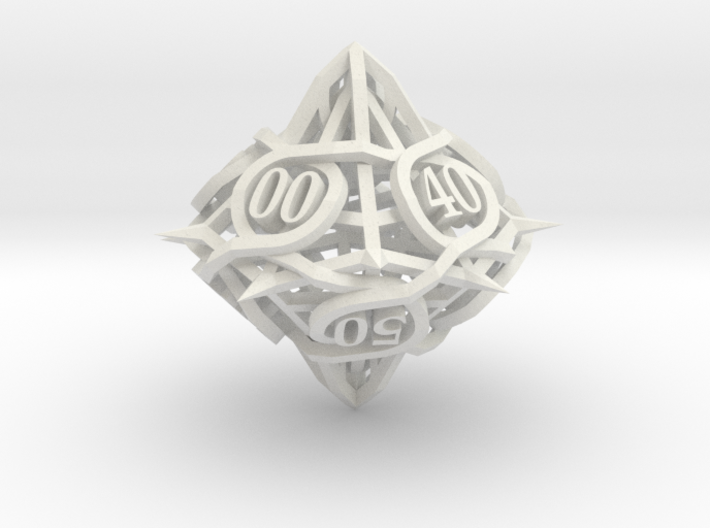 Thorn Die10 Decader Ornament 3d printed