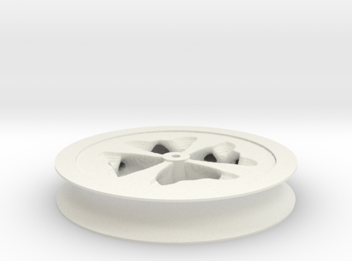 Fat Wheel 3d printed
