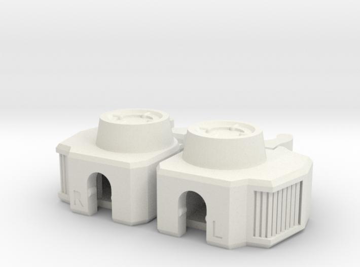 MC-KC01L Knee Connectors Lite 3d printed