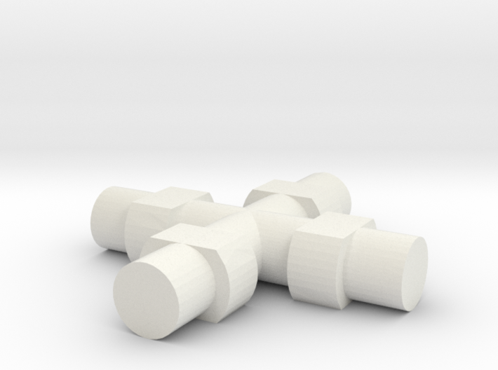 Rokenbok Universal Joint Axle 3d printed