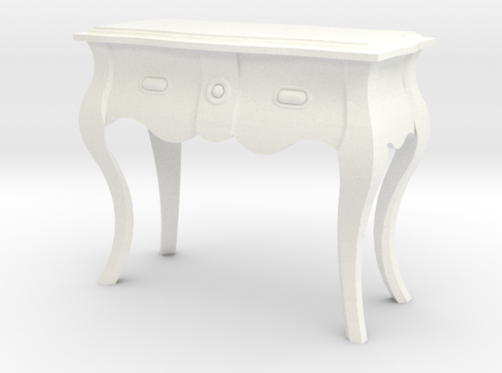 1:24 Bombe Console Table 3d printed