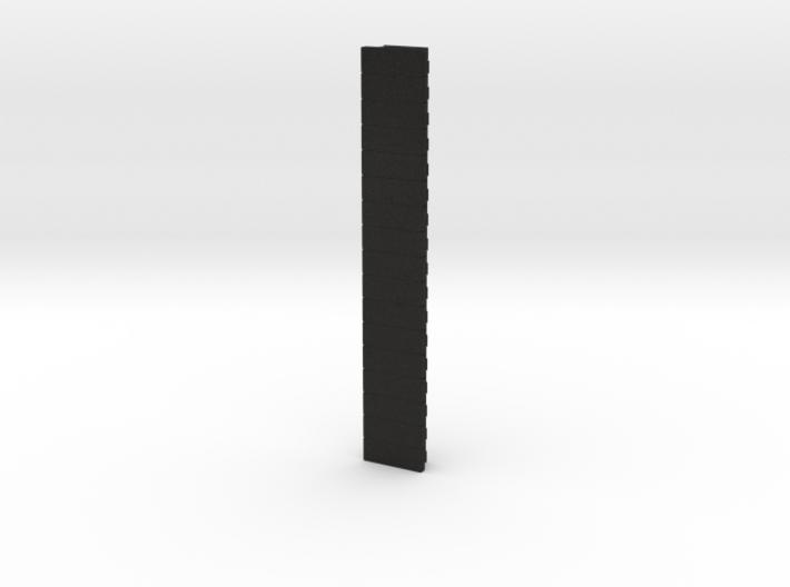 Picatinny Rail 17 Rails 3d printed