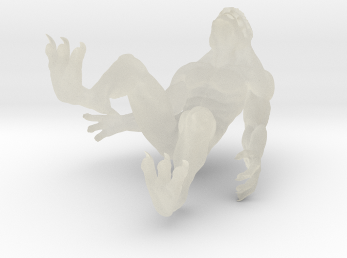 Krotegh Monster 3d printed