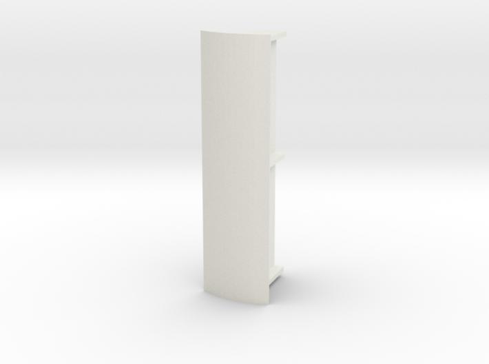 Abri 87 Dubbel Rond Dak 3d printed