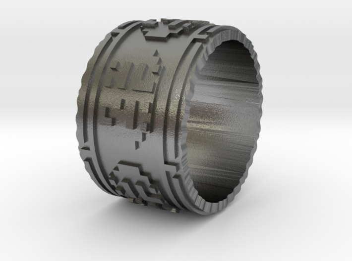 Journey Ring 8.5 3d printed