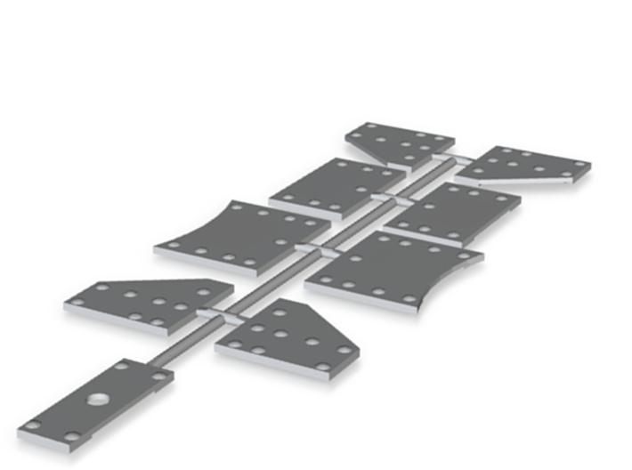 Knotenbleche Druck (repariert) 3d printed