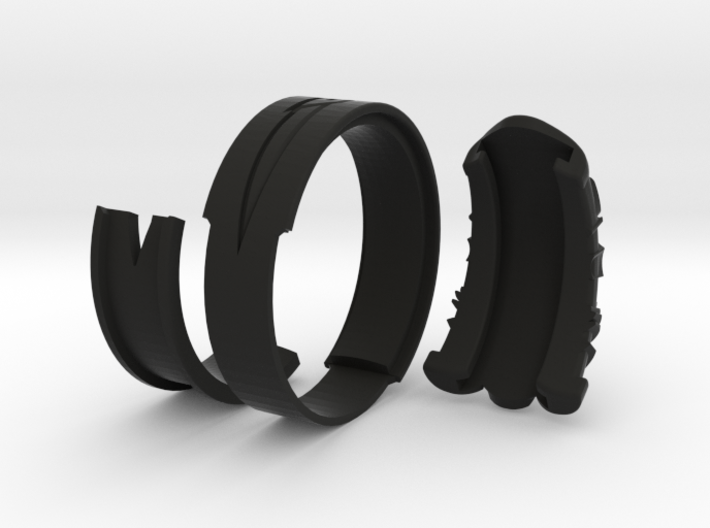 Vambrace Ring 12 3d printed