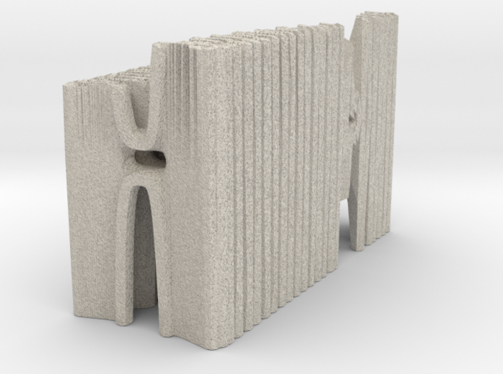 Hybrid Cathedral - Tessellate A+D 3d printed