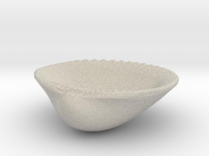 Palm Beach Sea Shell - 3 Inch Jewelry Dish 3d printed