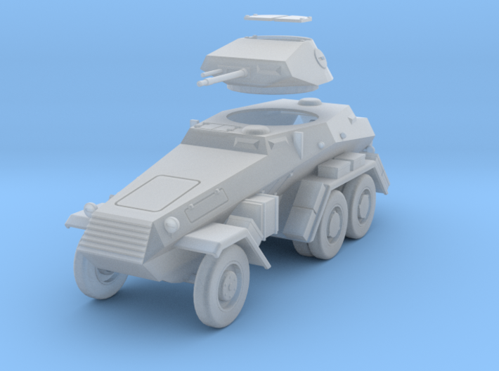 PV17A Sdkfz 231 6 Rad 1/87 scale 3d printed