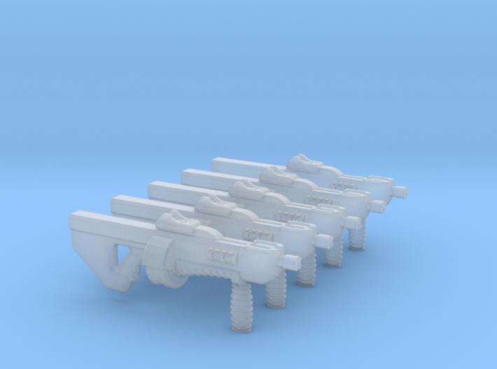 Gun 010a (pancore) 3d printed
