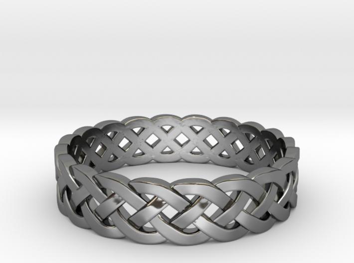 Rohkea Bold Celtic Knot Size 5 3d printed