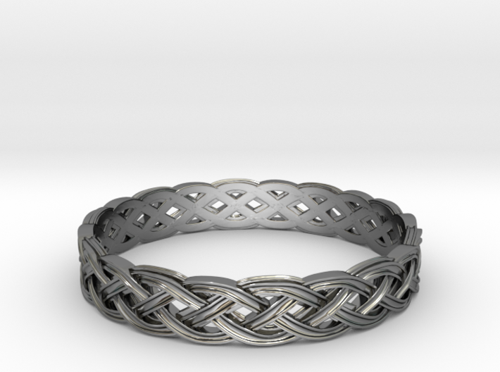 Hieno Delicate Celtic Knot Size 12 3d printed
