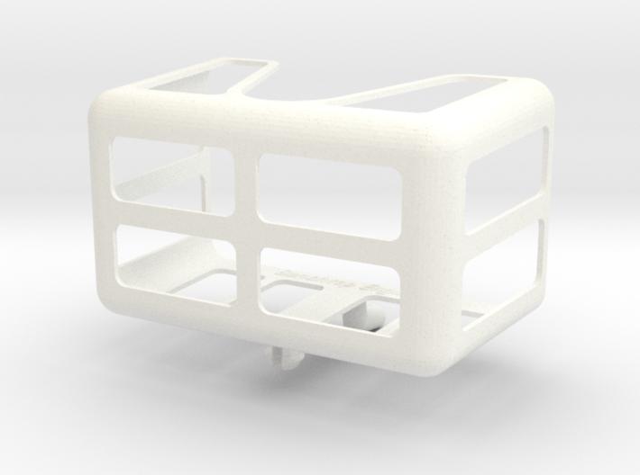 Medium Measuring Tape Holder for Pegboards 3d printed