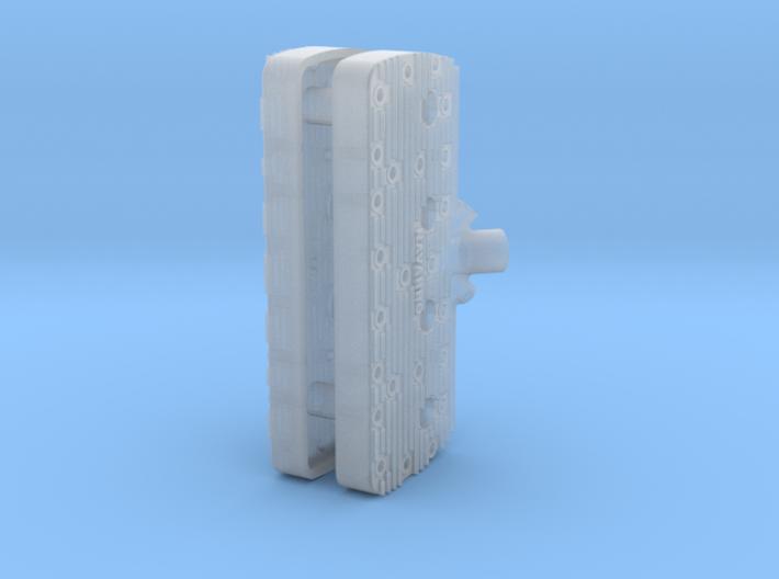 1 16 Flathead Navarro Head Kit 3d printed