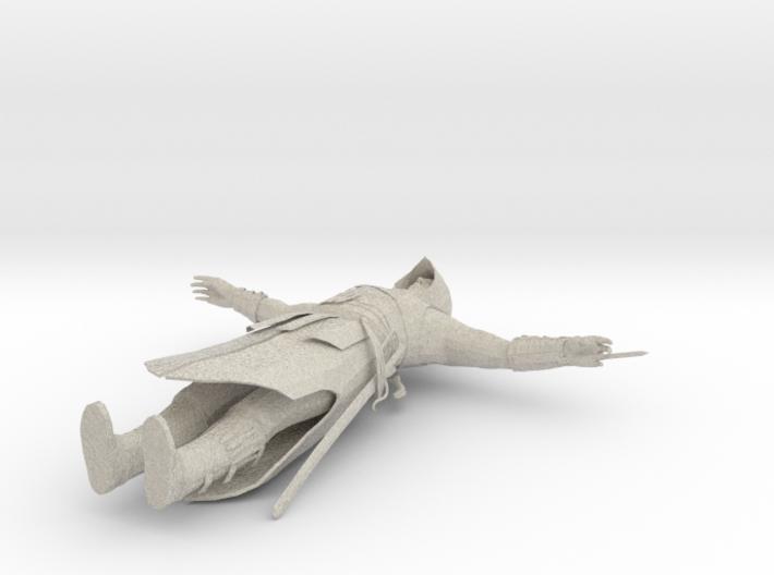 Altair T-pose 3d printed