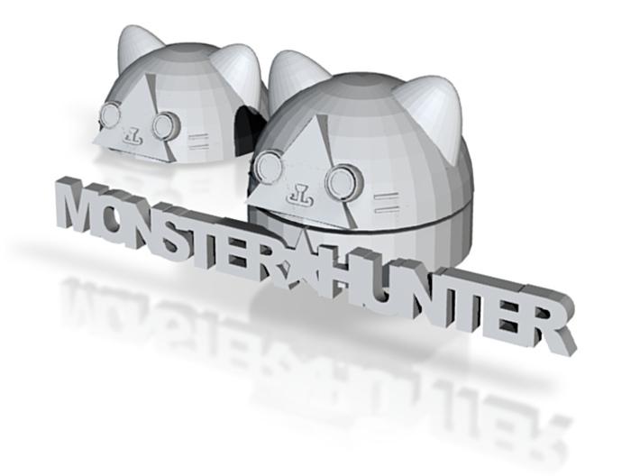 Monster Hunter - Airu color- improved 3d printed