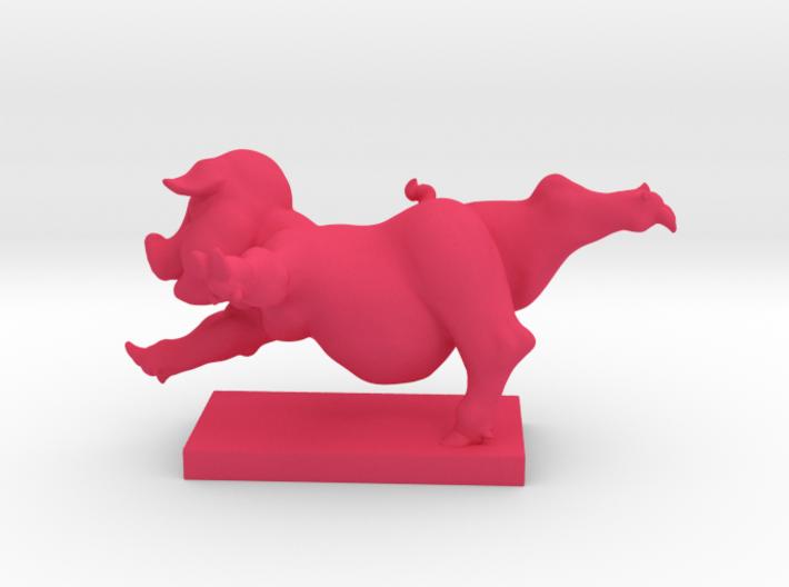 Pig Arabesque 50 mm 3d printed