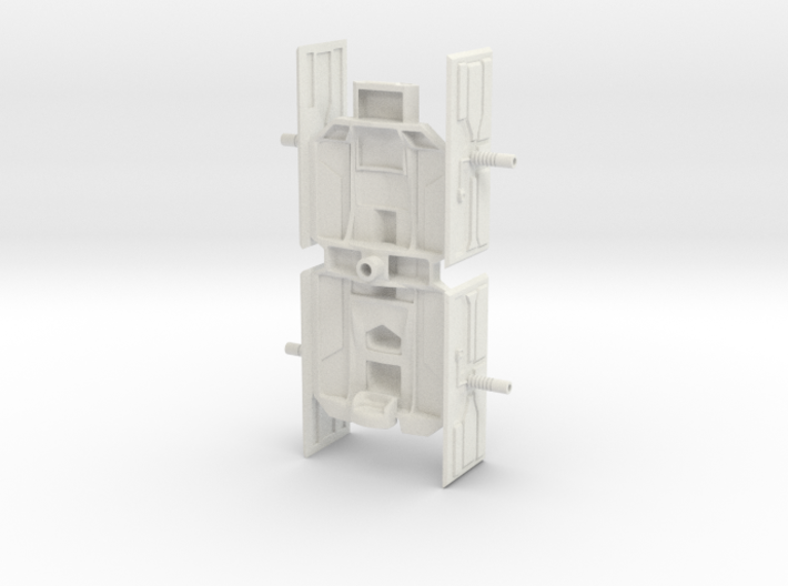 BBF1 Bulk Freighter Ship Only 3d printed