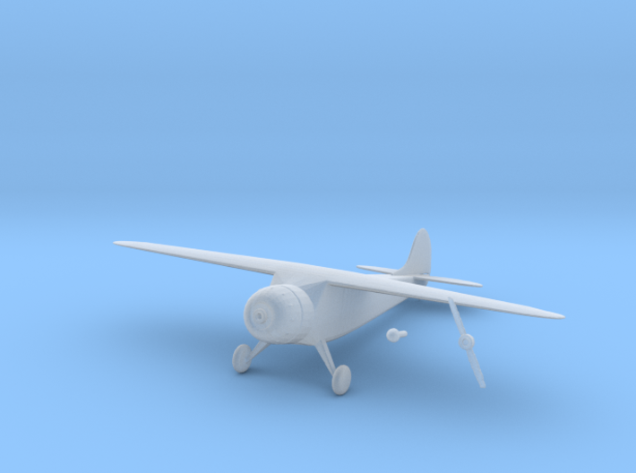 1:200 Cessna 195 3d printed