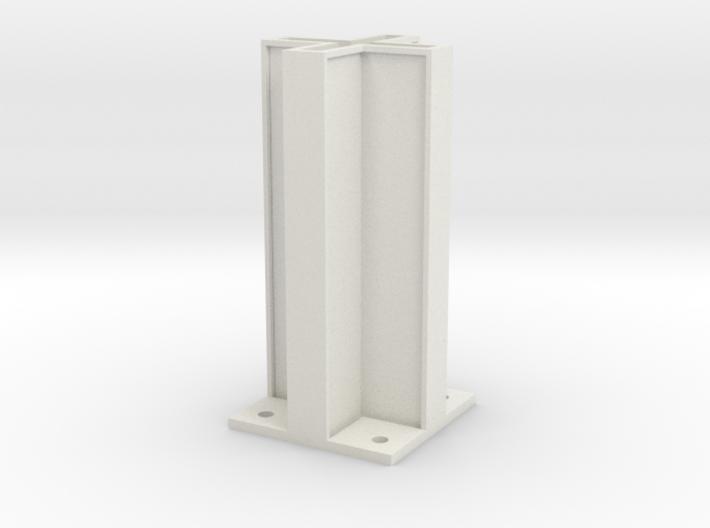 Nylon Gusset 3d printed