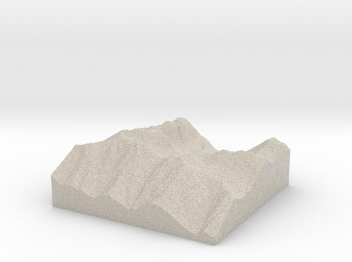 Model of Silver Lake 3d printed