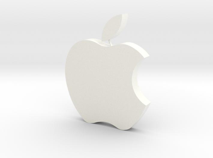 Large Apple Logo 8cm x 10cm x 2cm 3d printed